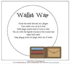 Pitner's Potpourri: Wallet War -- Freebie and 2012 Representations