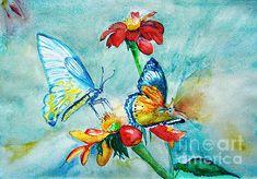 Butterfly Dance by Jasna Dragun