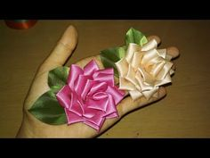 DIY || Cara Membuat Bros Rose Bund Mutiara  -  Tutorial Bros Simple by Lista Tsurayya - YouTube