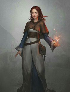 Leah lersonbe  the mage
