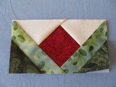 This would make a beautiful pieced border. Free Tutorial - Paper Piecing Quilt Blocks by Denise