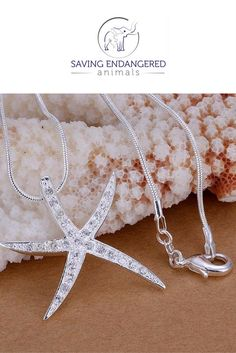 6b278692a3cb81 this beautiful starfish choker necklace is available at  savingendangeredanimals Star Jewelry