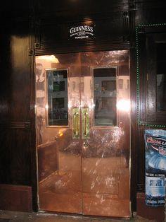 Copper doors by Alejandra of Always Order Dessert, via Flickr