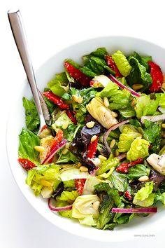 Sağlıklı yaşam listenize bu salatayı ekleyin.