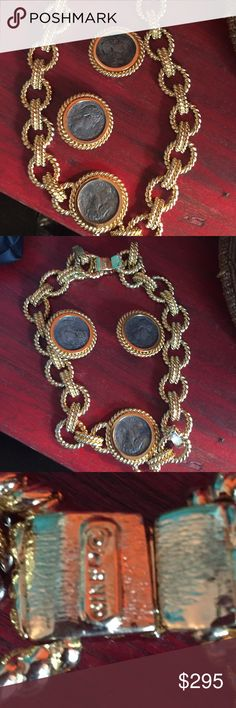 Vintage ciner choker and earring Vintage ciner signed choker and earring  set (stunning ) Ciner Jewelry
