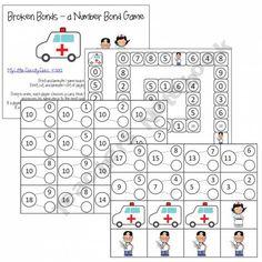 Broken Bonds Math Game