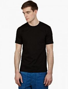 Comme Des Garcons Shirt Regular Black T-Shirt The COMME des GARCONS SHIRT Cotton T-Shirt, seen here in black. - - - Cut to offer a relaxed fit, this t-shirt is crafted from premium cotton as part of COMME des GARCONS SHIRT FOREVER collection. - - http://www.MightGet.com/january-2017-13/comme-des-garcons-shirt-regular-black-t-shirt.asp