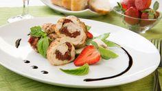 Kuracie prsia plnené paradajkami Baked Potato, Potatoes, Eggs, Baking, Breakfast, Ethnic Recipes, Food, Morning Coffee, Potato