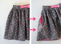 So awesome! Adding Hidden Side Pockets to Anything (skirt, pants, shorts, etc.) - makeitandloveit