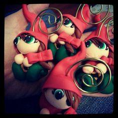 Gnome portafoto natalizie