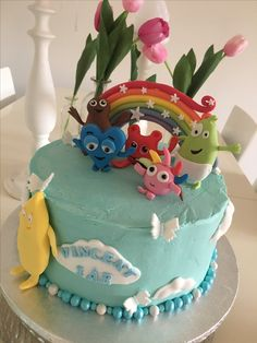 Babblarna birthday cake