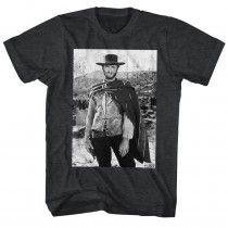 8ac3d098 Clint Eastwood Distressed T-Shirt Mens Cape, Movie T Shirts, Cool T Shirts