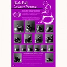 birthing ball positions - Google Search