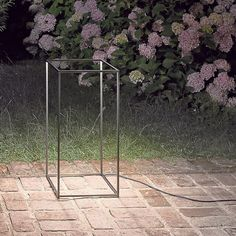 Ipnos by Nicoletta Rossi and Guido Bianchi brings a unique flavor to outdoor lighting and adds a modern touch to exteriors outside the home.