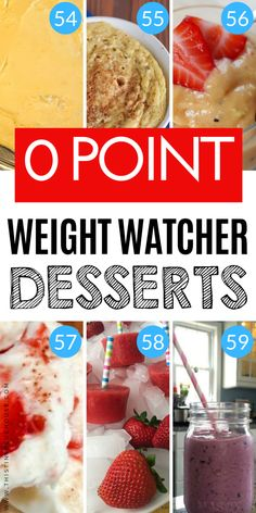 75 Zero Point Weight Watchers Food Ideas - This Tiny Blue House - 75 Zero Point Weight Watchers Food Ideas – This Tiny Blue House Must try ZERO point Weight Watchers friendly dessert ideas Weight Watcher Desserts, Weight Loss Drinks, Weight Watchers Meals, Weigh Watchers, Weight Watchers Points Guide, Healthy Detox, Healthy Drinks, Healthy Weight, Healthy Eating