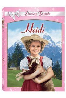 """""""Heidi"""" A plucky little orphan girl gets dumped abruptly into her gruff, hermit grandfather's care, then later gets retaken and delivered as a compa. This is a wonderful version of the classic, with Shirley Temple as Heidi. Old Movies, Great Movies, Movies Showing, Movies And Tv Shows, Heidi Movie, Temple Movie, Nostalgia, Orphan Girl, Adopting A Child"""