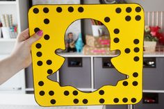 DIY Snapchat-Inspired Photobooth Props | Karen Kavett