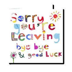 sorry you\'re leaving pepito card | Illustration - Kids | Pinterest ...