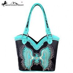 Montana West Bling Bling Collection Phoenix Tote Bag