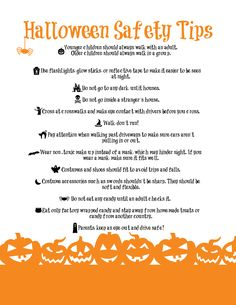 Halloween safety - Google Search
