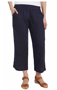 Here's another new item out for sale! Now available online, and in-store! #bigsavings #bigdeals in #cantonohio  http://www.cantonsupply.com/products/allen-allen-womens-linen-crop-pant-sm-med?utm_campaign=social_autopilot&utm_source=pin&utm_medium=pin