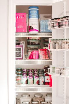 How to Organize a Small Pantry! #PantryOrganization #TheContainerStore #AlfaCloset #SmallPantryOrganization #ClosetOrganization