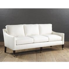 Our Griffin Sofa with Self Weltsdelivers tailored, timeless comfort that will never step out of style. Hardwood frame is artisan crafted in North Carolina.