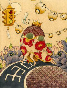 Pinzellades al món: Il·lustracions de Felicia Chiao: orientalisme occidental…