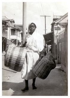 Basket Seller  Trinidad