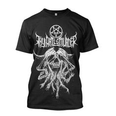 "Thy Art Is Murder ""Riddick Atonement"" T-Shirt Thy Art Is Murder, Metal Shirts, Atonement, Band Merch, Cool Outfits, Skull, Awesome, Mens Tops, Fashion"