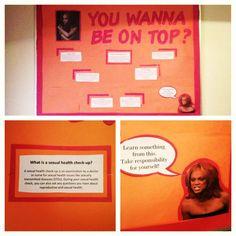Bulletin board idea: Sexual Awareness