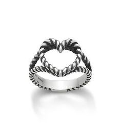 Twisted Wire Heart Ring | James Avery