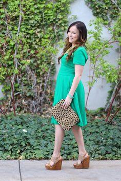 Green Summer Dress | Modest Style Blog | Modest Style