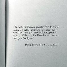 David Foenkinos citation