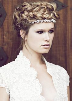 stunning hair and makeup for any bride #makeup #beauty #hair #weddingphotography http://www.forgetmenotstudios.com/