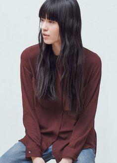 Patch pocket blouse | MANGO