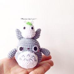 Amigurumi Totoro by momomigurumi <3