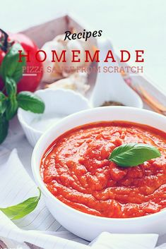 Home made Pizza Sauce from Scratch | Sandhya's Kitchen