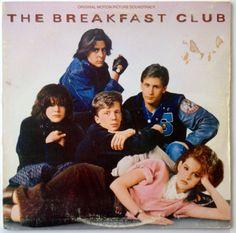 The Breakfast Club Original Motion Picture Soundtrack LP Vinyl Record Album, A&M Records - SP 5045, 1985, Original Pressing