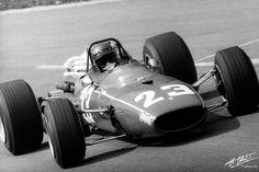 Ickx 1968 Belgium Ferrari 312