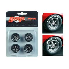 Trans Am Wheels and Tires Set of 4 from 1967 Chevrolet Camaro Z/28 Chevy-Land Heinrich 1/18 by GMP 1967 Camaro, Camaro Z, Chevrolet Camaro, Chevy, Model Cars Kits, Kit Cars, Vw Eos, Good Night Friends, Car Tools