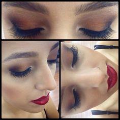 Make por Carol San Cristobal #make #maquiagem #beauty #circuspamplona #circushair