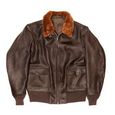 Bill Kelso Manufacturing Willis and Geiger Leather Flight Jacket, Fur Collars, Military Jackets, Varsity Jackets, Bomber Jackets, Pilot, Mens Fashion, Navy, How To Wear