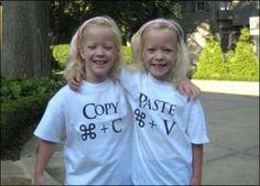Twins Rocking Mac Copy/paste Shirts