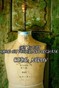 Poshmark code!