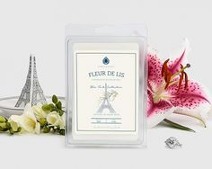 Fleur de Lis Wax Tarts  A refreshing floral blend of green tea and bright tones, this fragrance combines bamboo notes with hints of crisp bergamot, jasmine and petitgrain. Creamy sandalwood and smoky vetiver finish off a scent as classic and sophisticated as Paris itself.