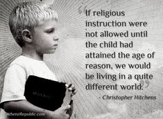 If religious instruction were not allowed...