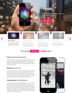 This free WordPress theme for promoting apps offers a featured content slider, localization support, easy background, font, and color customization, a widgetized homepage, a clean design, and more.