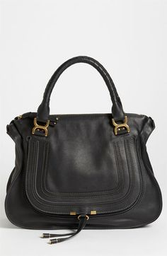 Chloé 'Marcie Large' Leather Shoulder Bag available at #Nordstrom