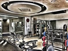 Strength Room Gym Equipment, Health Fitness, Strength, Club, Living Room, Home Living Room, Workout Equipment, Drawing Room, Lounge